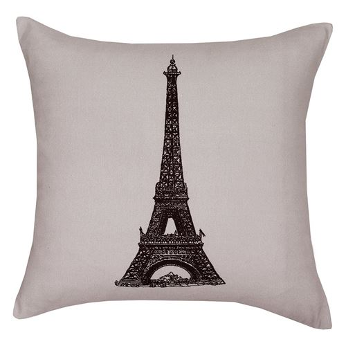 Picture of Parisian time cushion