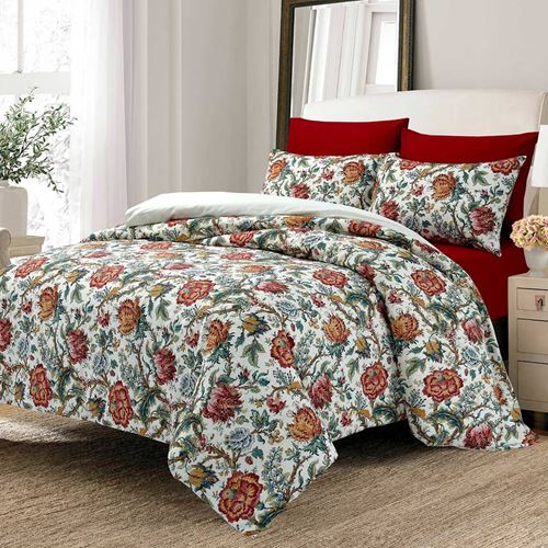 Picture of Retro flowers duvet set