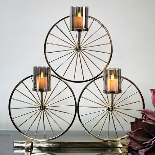 Picture of Wheel candle stand