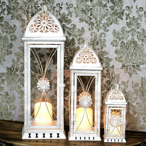 Picture of 3 pc's candle lantern