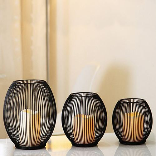 Picture of Bird cage candle holder