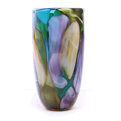 Picture of Abstract glass floor vase(bullet)