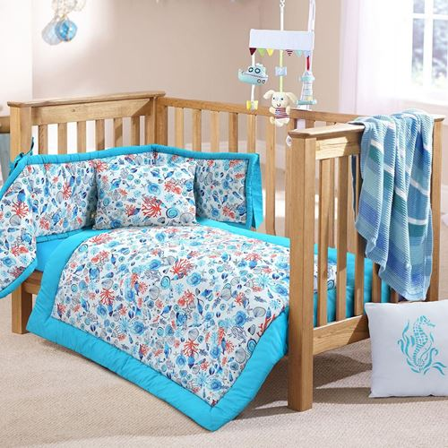 Picture of Marine life crib set