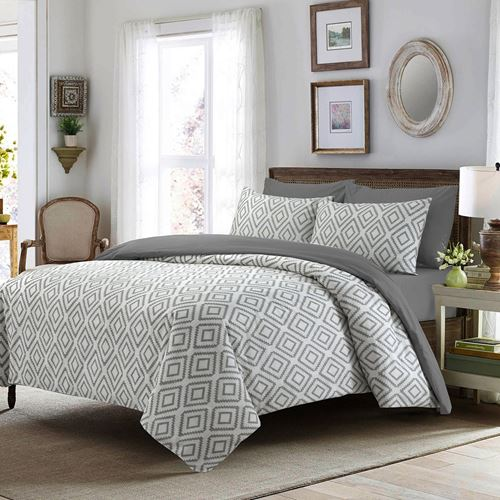 Picture of Four square duvet set