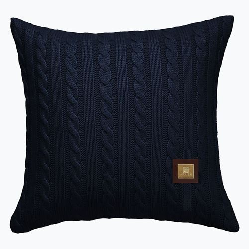 Picture of Woolen cushion navy