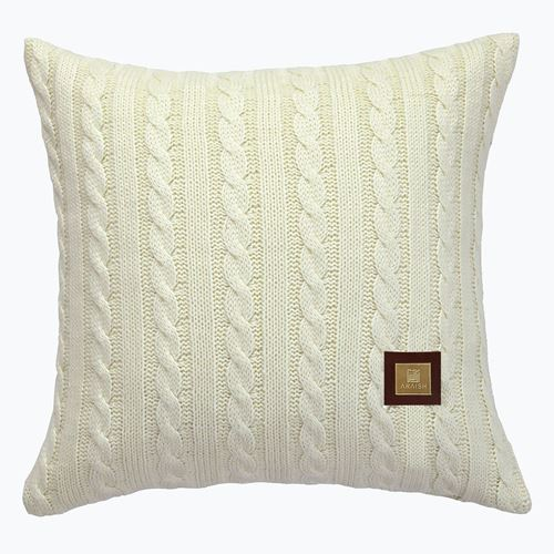 Picture of Woolen cushion cream