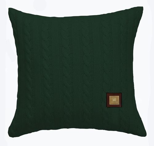 Picture of Woolen cushion green