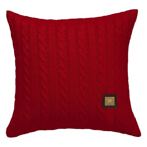 Picture of Woolen cushion Red