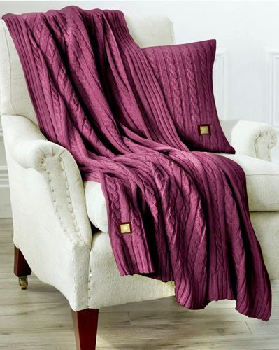 Picture of Woolen throw Campbell
